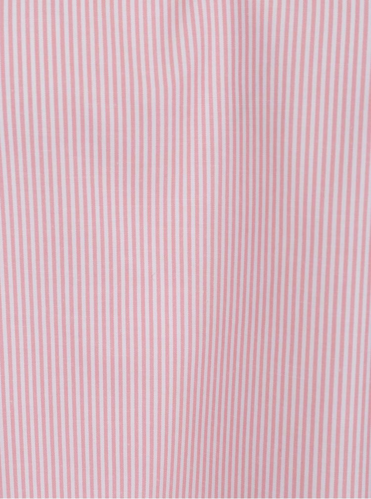 Světle růžová pruhovaná halenka TALLY WEiJL