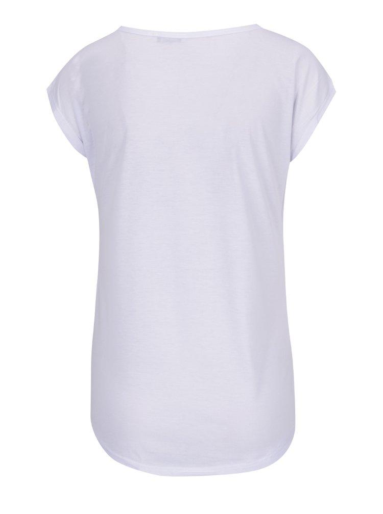 Tricou alb Haily's Scully cu imprimeu