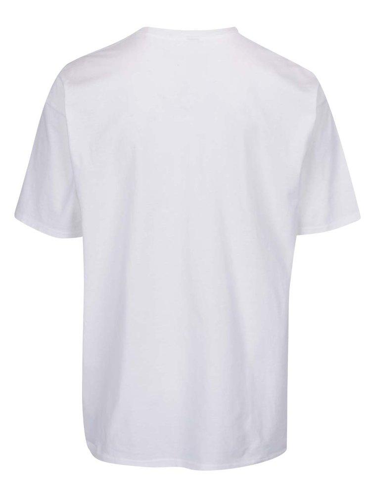 Tricou alb  VANS Peanuts cu print