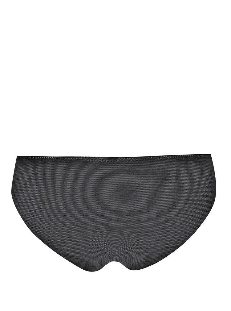 Černé průsvitné kalhotky ICÔNE Abi