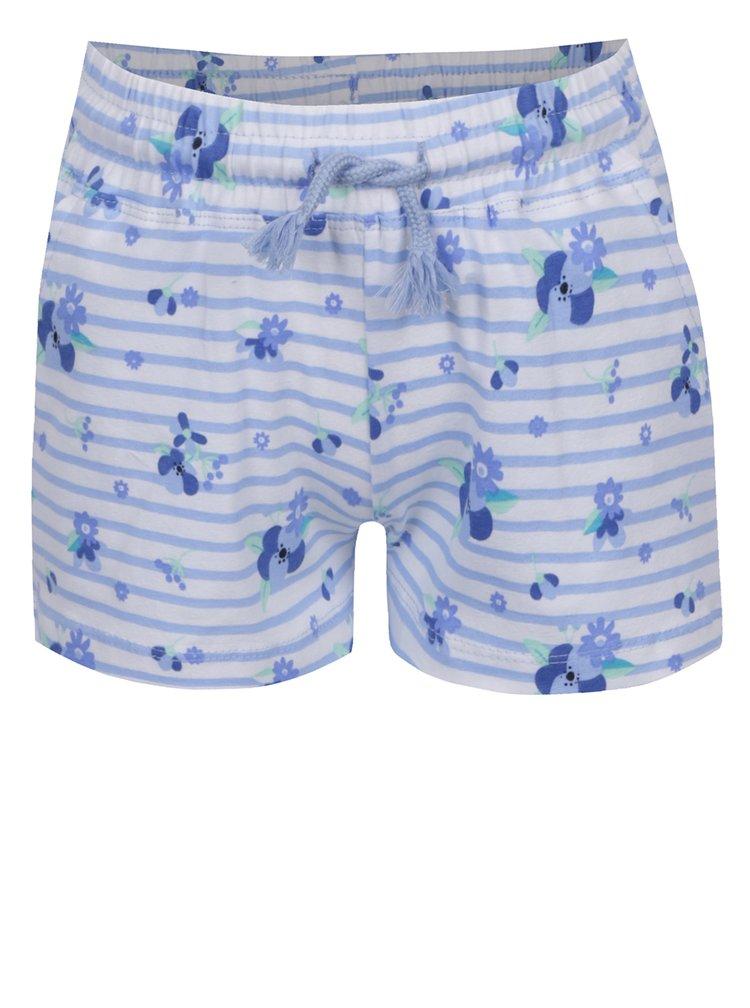 Modro-bílé pruhované holčičí kraťasy 5.10.15.