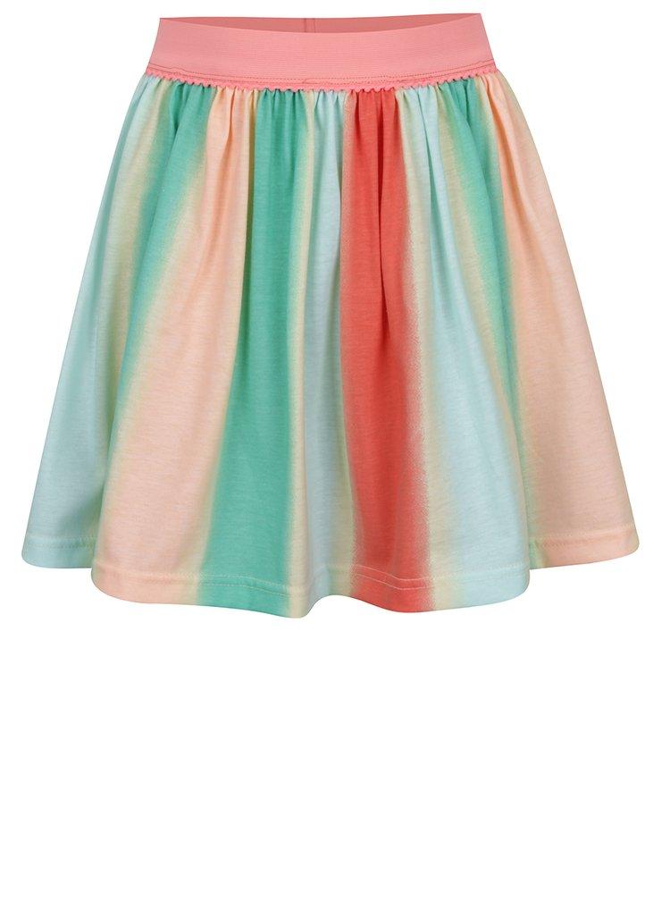 Zeleno-oranžová holčičí sukně 5.10.15.