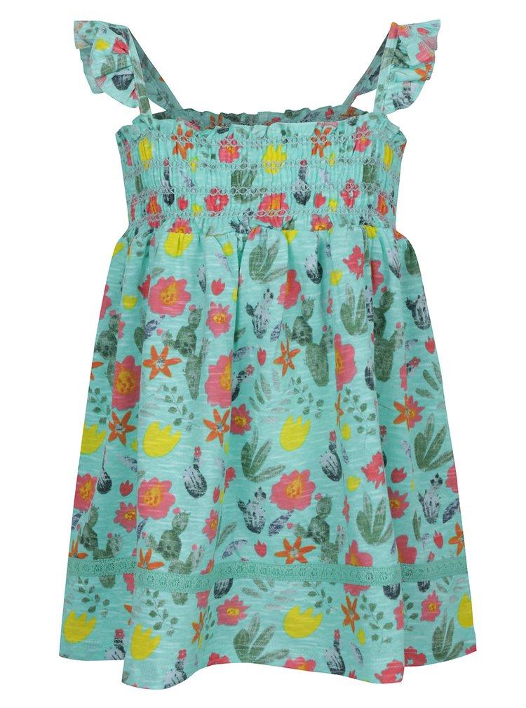 Zelené holčičí květované tílko 5.10.15.