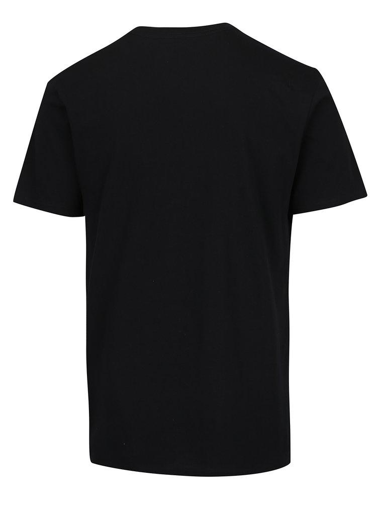 Tricou negru VANS din bumbac