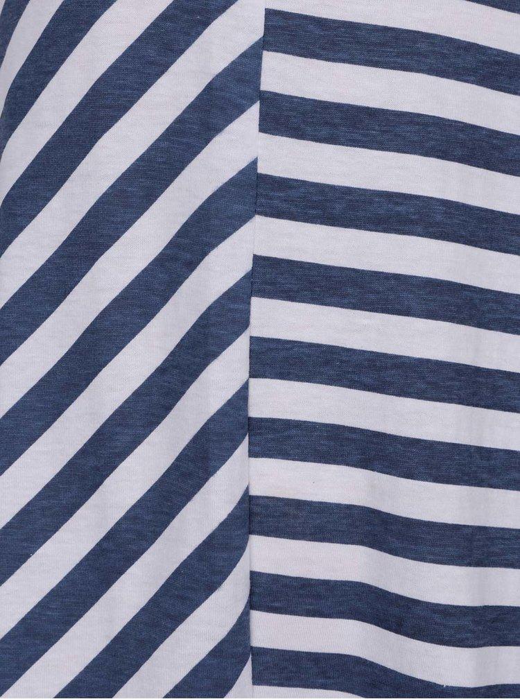 Bílo-modré holčičí pruhované šaty 5.10.15.