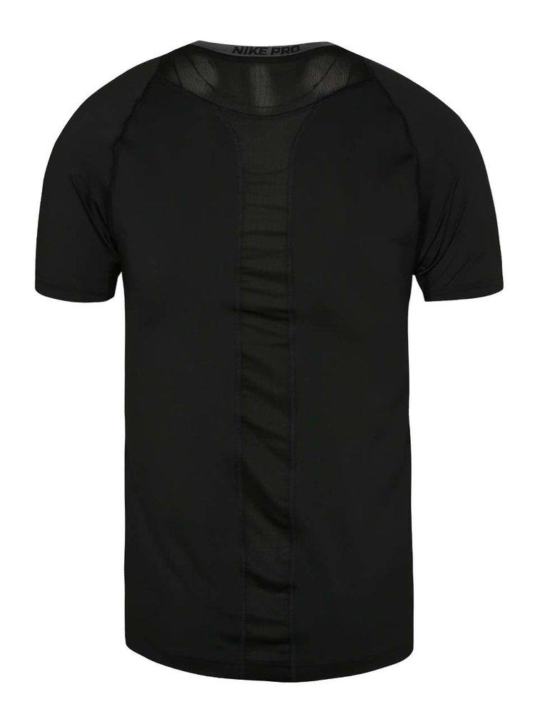Černé pánské funkční triko Nike Pro