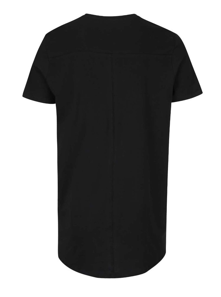 Tricou negru Jack & Jones Pacific Plica