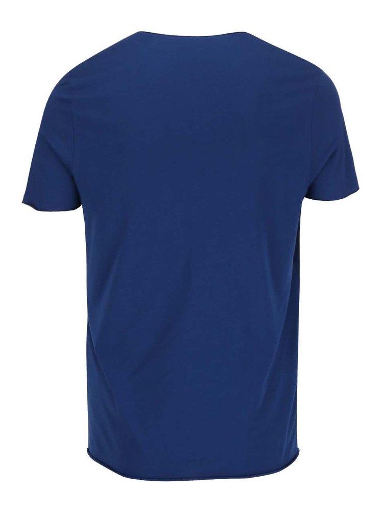 Tricou albastru - Selected Homme Merce