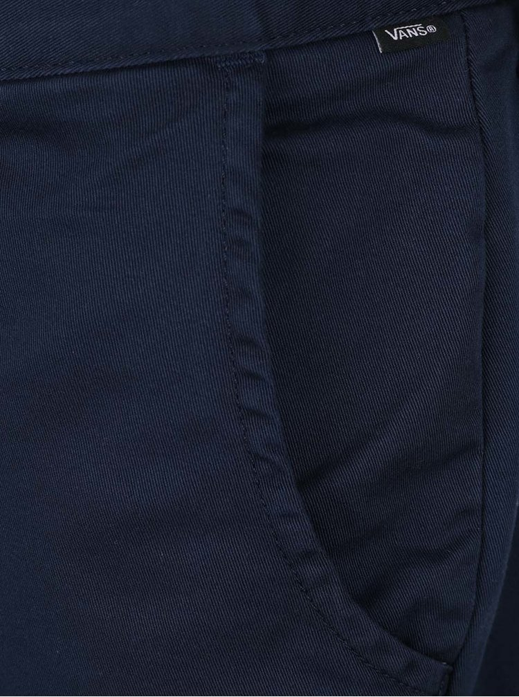 Tmavě modré pánské kraťasy VANS