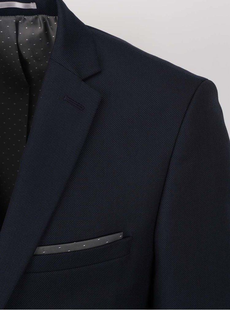 Sacou bleumarin  Burton Menswear London