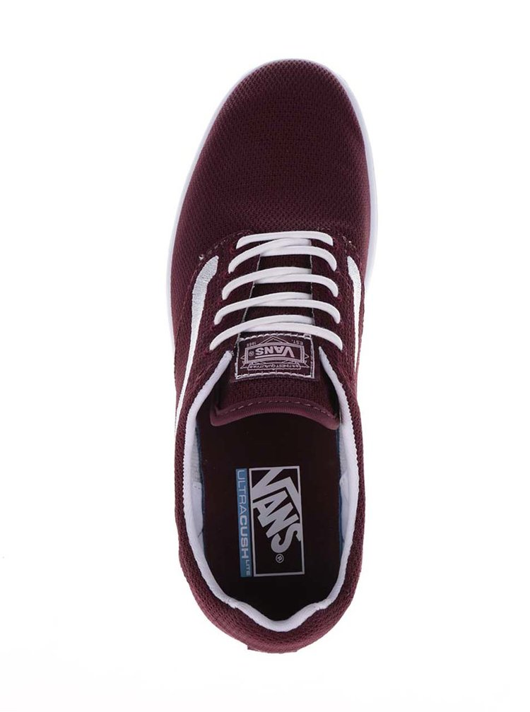 Pantofi sport visinii VANS Old skool cu detalii albe