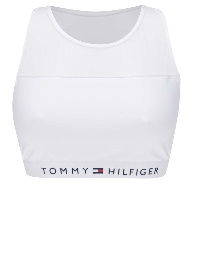Bílá sportovní podprsenka Tommy Hilfiger