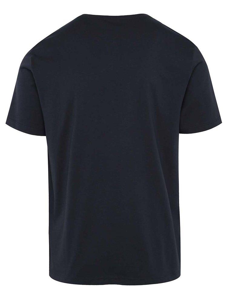 Tricou negru s.Oliver cu print