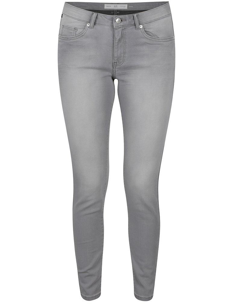 Šedé dámské zkrácené superslim fit džíny džíny QS by s.Oliver
