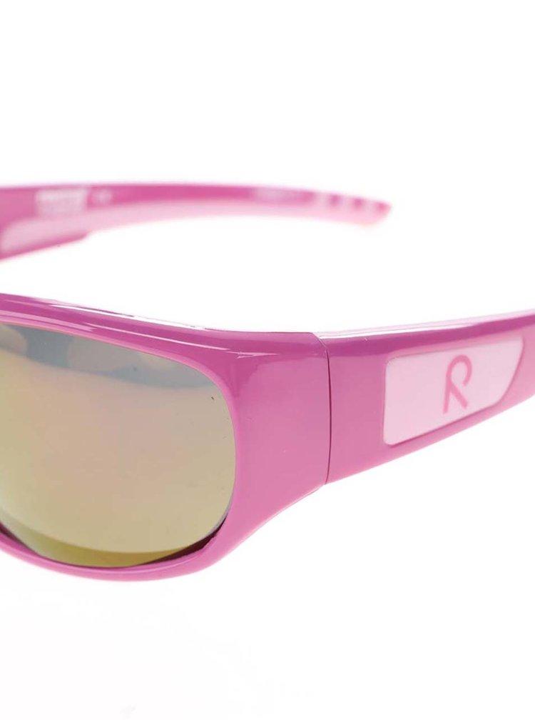 Růžové holčičí sluneční brýle Reima Sereno