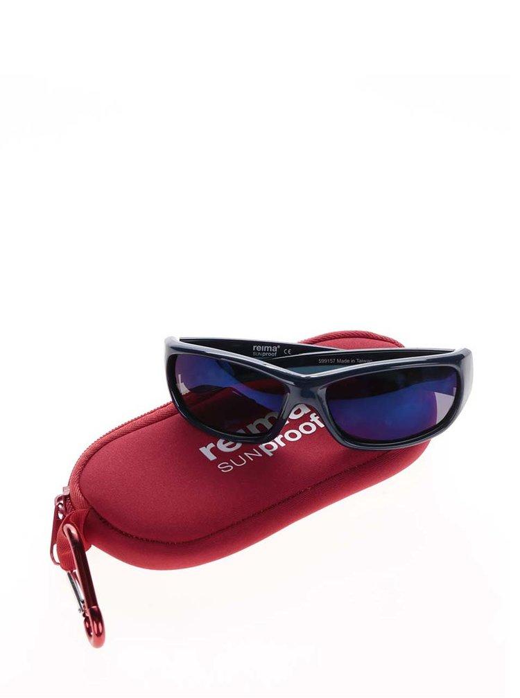 Tmavě modré klučičí sluneční brýle Reima Sereno
