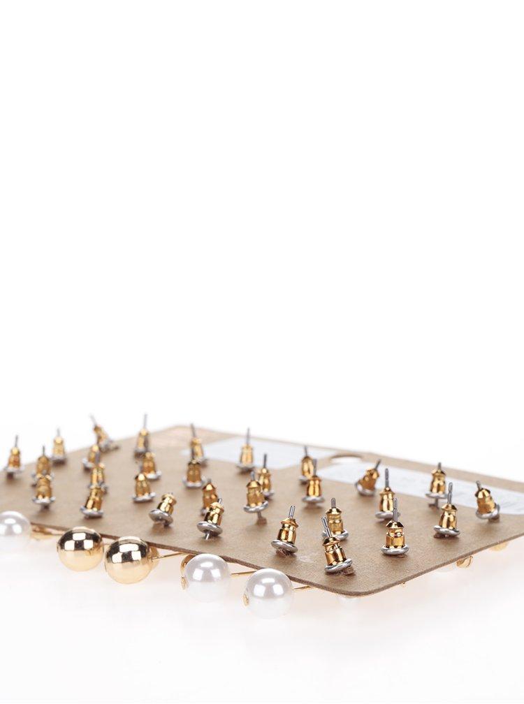 Set cu 16 perechi de cercei aurii TALLY WEiJL