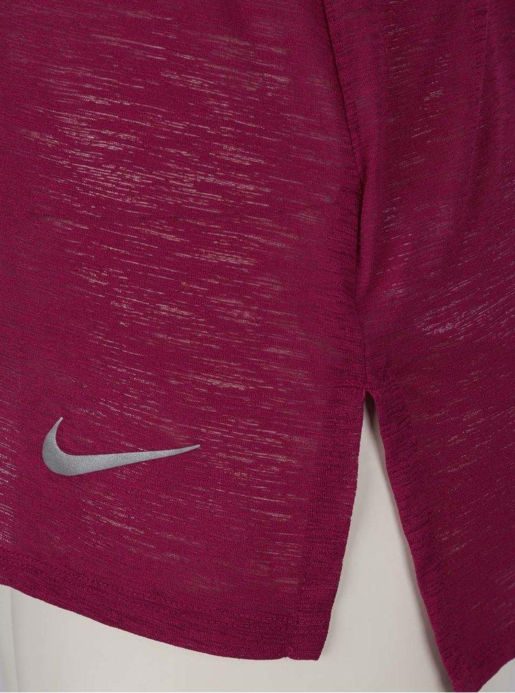 Fialové dámské funkční tílko Nike