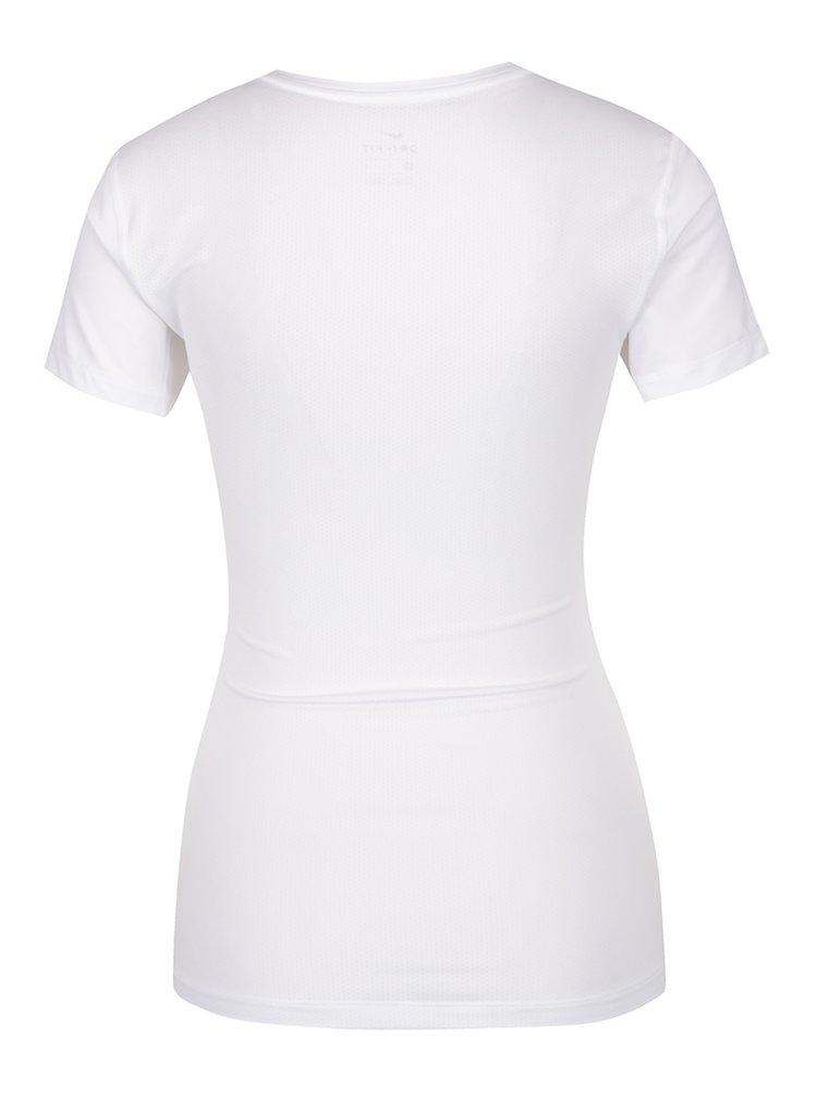 Bílé dámské funkční tričko s krátkým rukávem Nike