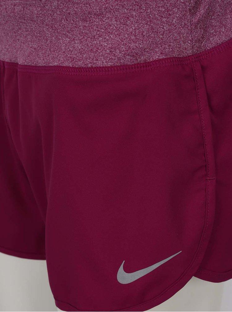 Fialové dámské funkční kraťasy Nike