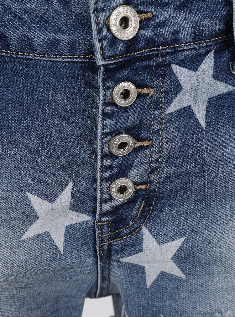 Modré džínové kraťasy Haily´s Starry