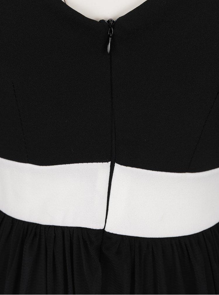 Černé šaty s pruhy Haily´s Marita