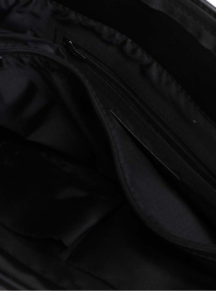 Geanta de umar neagra Solier