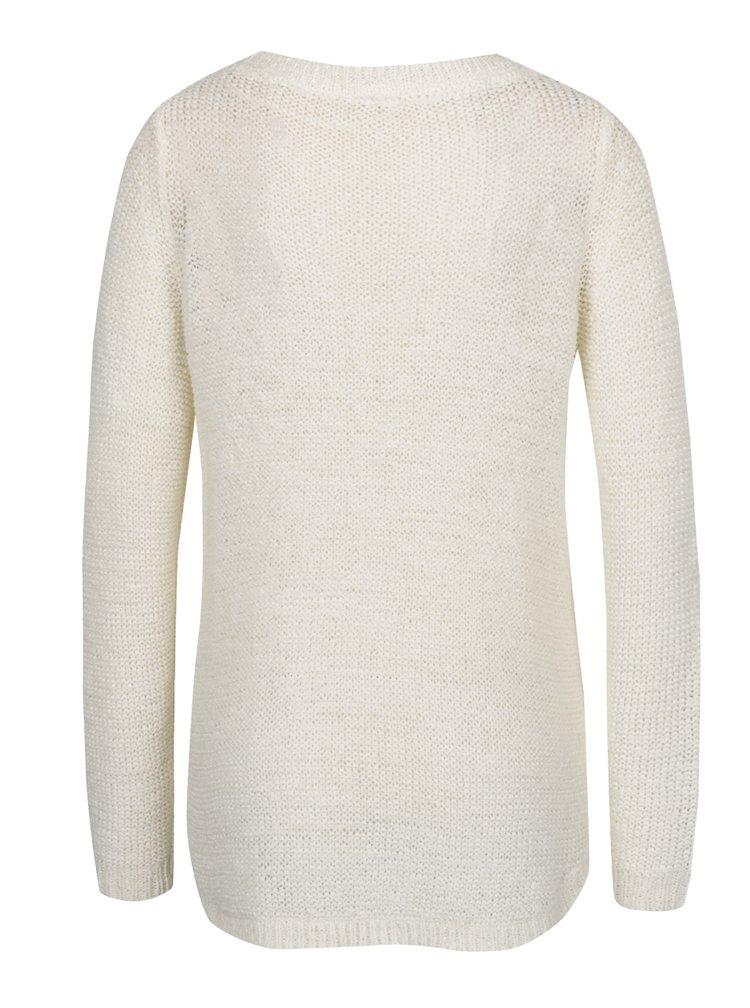 Biely sveter VERO MODA Charity