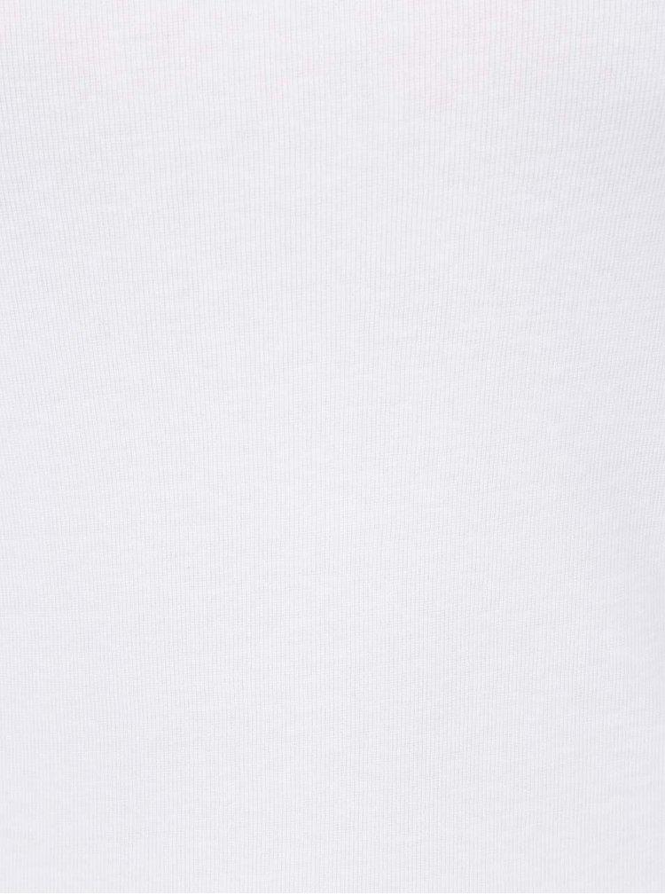 Bílé basic tričko s 3/4 rukávy Haily´s Zora
