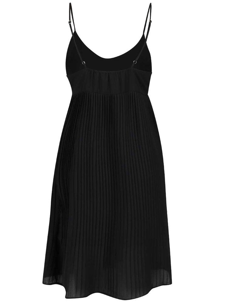 Černé plisované šaty Haily´s Lina