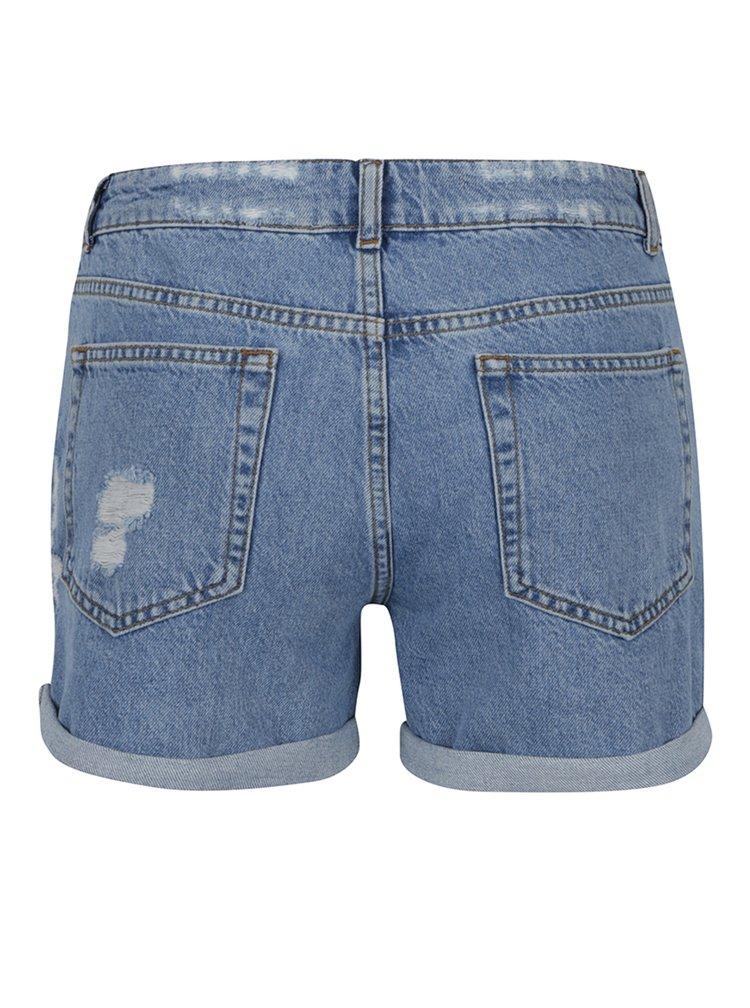 Pantaloni scurți albaștri din denim Miss Selfridge