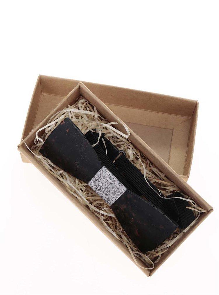 Papion negru Umelohmoté din plastic