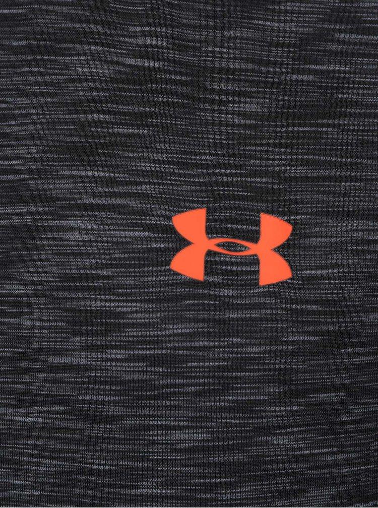 Šedé pánské funkční triko Under Armour Threadborne Knit