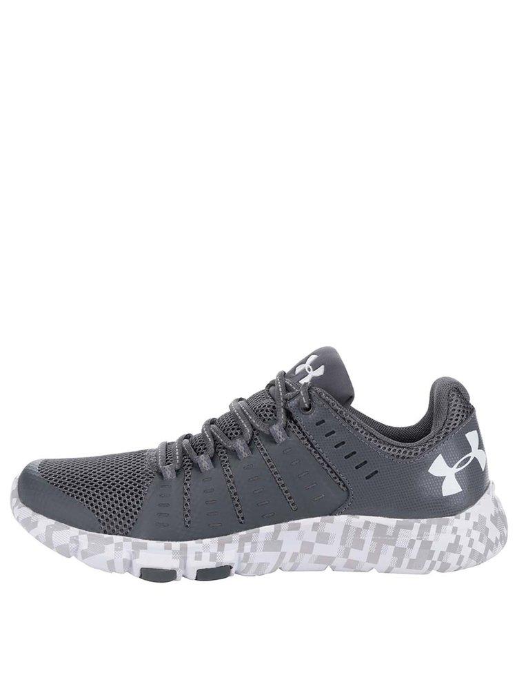 Pantofi sport gri Under Armour UA Micro G Limitless TR 2 SE pentru barbati