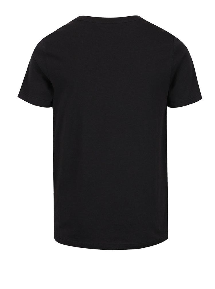 Černé klučičí tričko s potiskem LIMITED by name it Oville