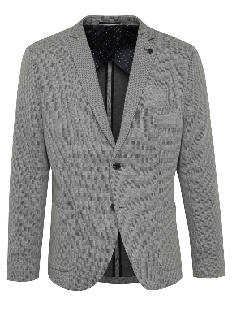 Sacou gri Selected Homme Done-Dime