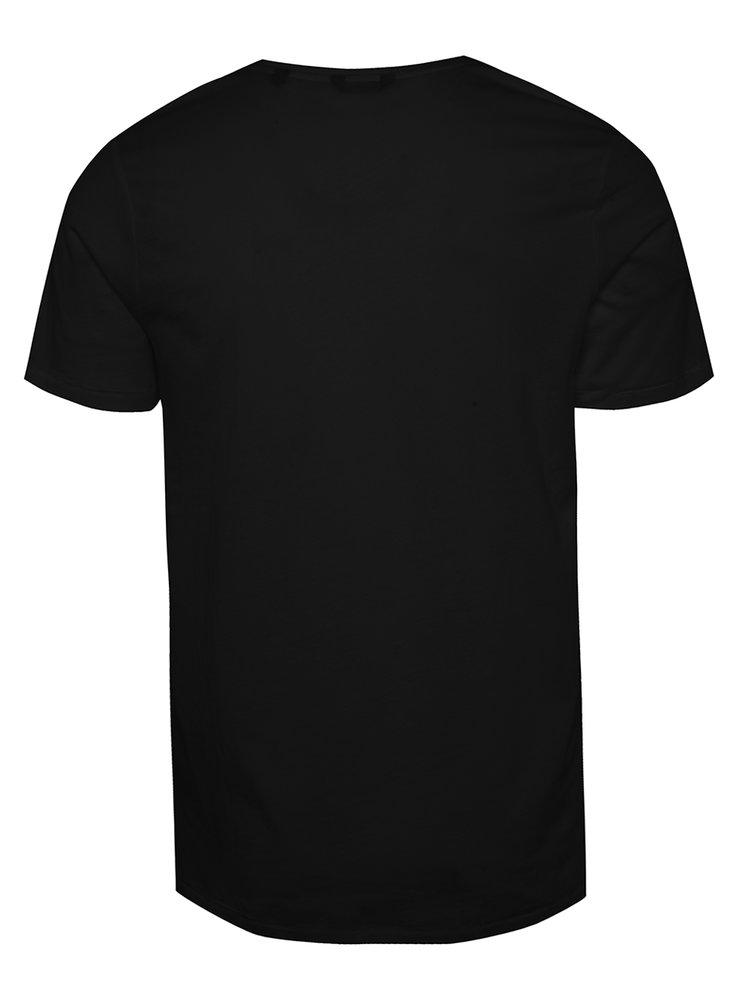Černé triko s potiskem ONLY & SONS Herbert