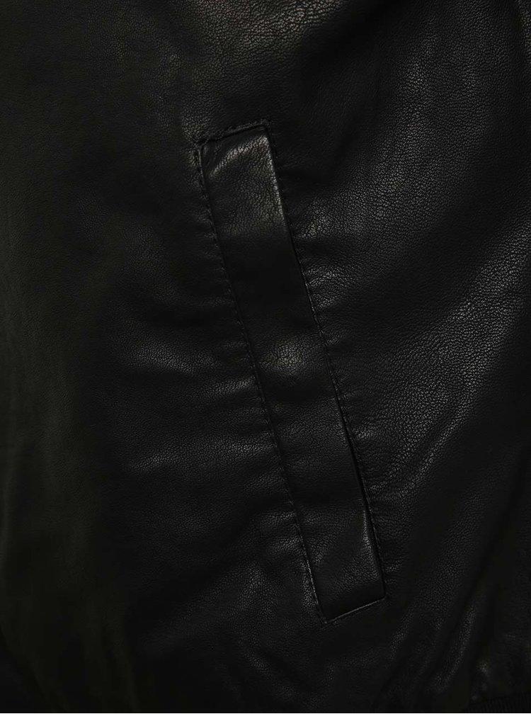 Jachetă bomber ONLY & SONS Sixten din piele ecologică