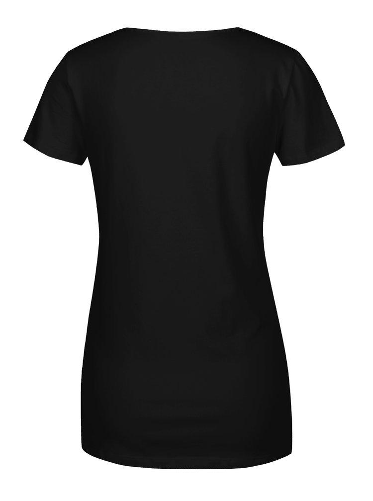 Sada dvou těhotenských/kojicích triček v krémové a černé barvě Mama.licious Lea