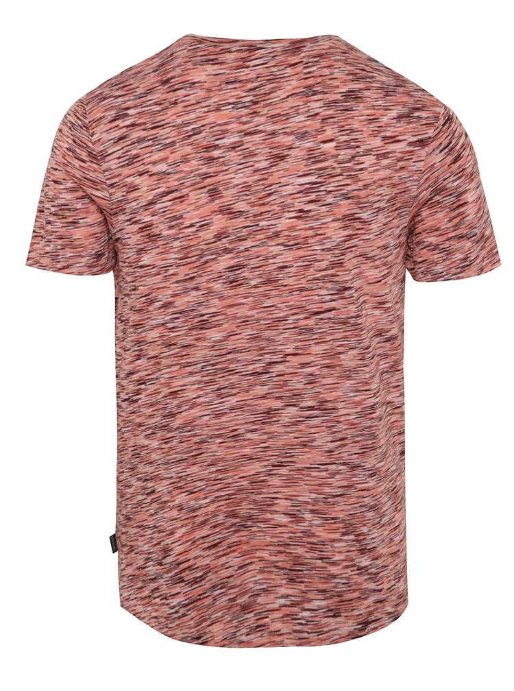 Tricou rosu melanj Jack & Jones Hollywood