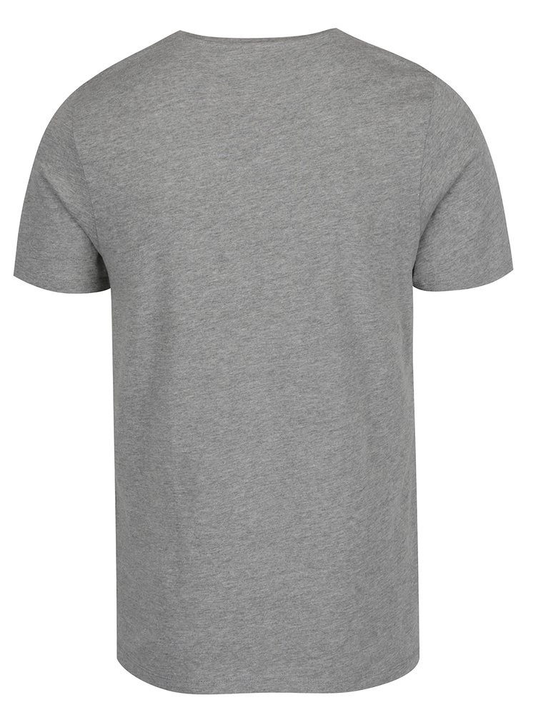 Šedé triko s potiskem Jack & Jones Recycle