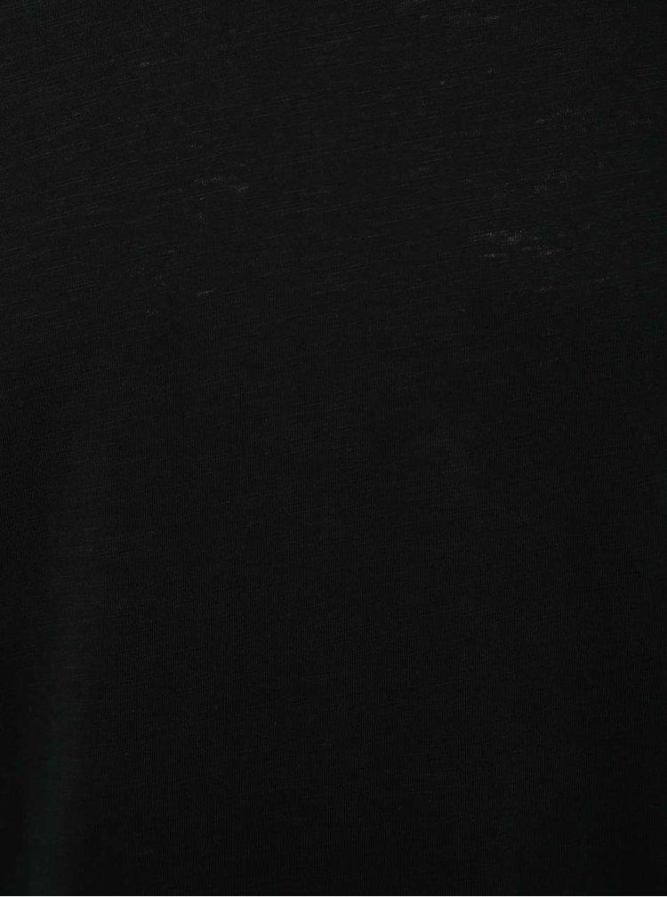 Tricou negru Jack & Jones Southern