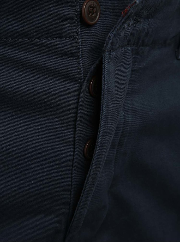 Pantaloni scurți chino bleumarin Jack & Jones Peek