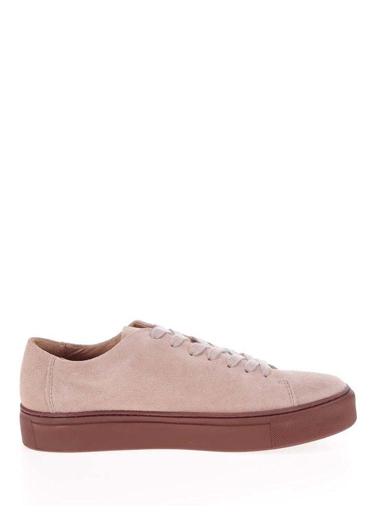 Pantofi sport roz prafuit  Selected Femme Donna din piele intoarsa