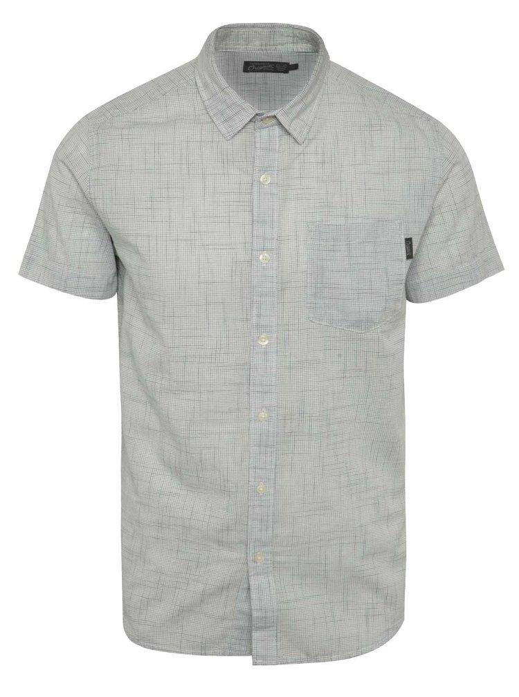 Bílá vzorovaná košile Jack & Jones Resort
