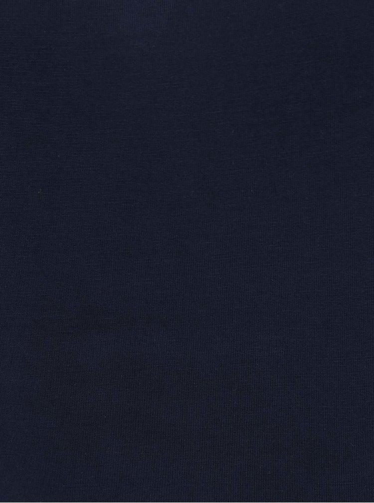 Tmavě modrá halenka s průstřihy na ramenou ONLY Tula