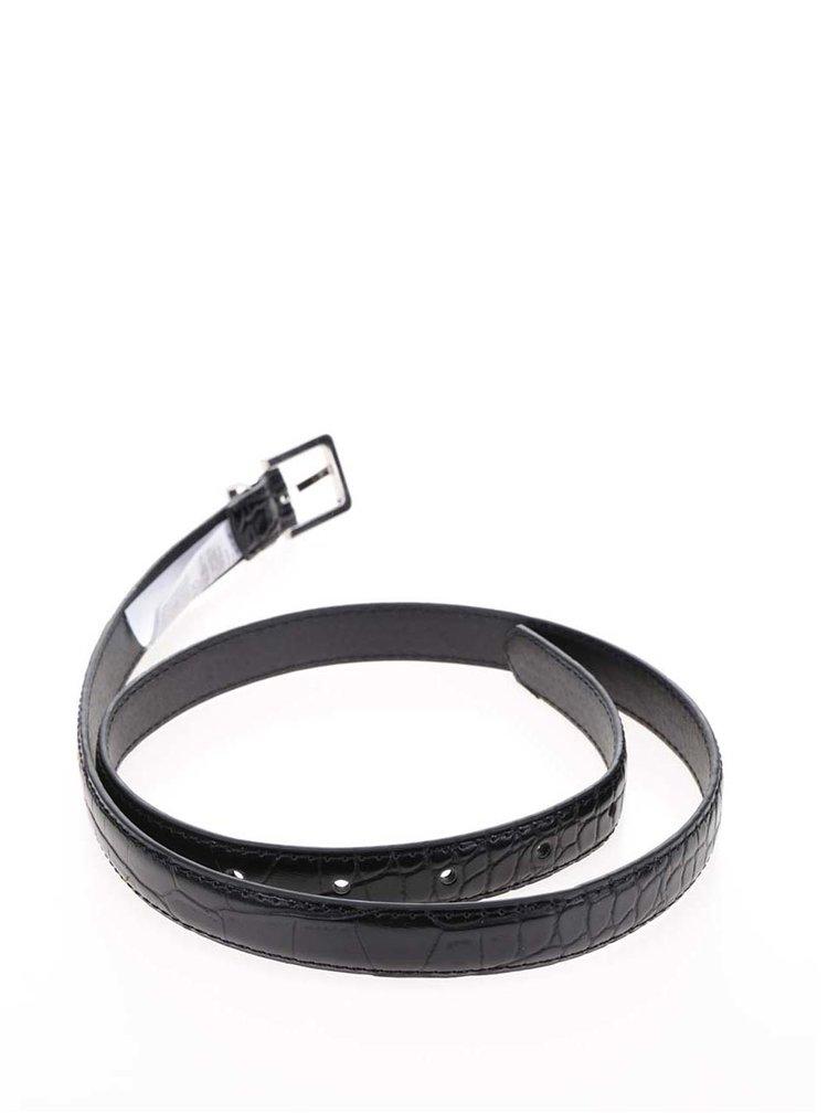 Černý pásek Pieces Emily