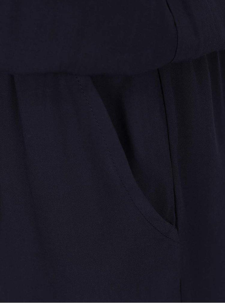Salopeta albastru inchis ONLY Nova cu talie elastica