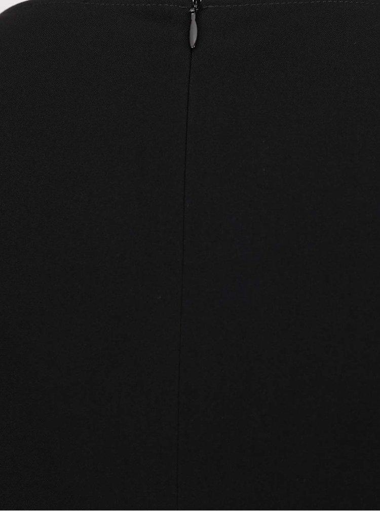 Rochie neagră Selected Femme Lamira  cu decolteu rotund