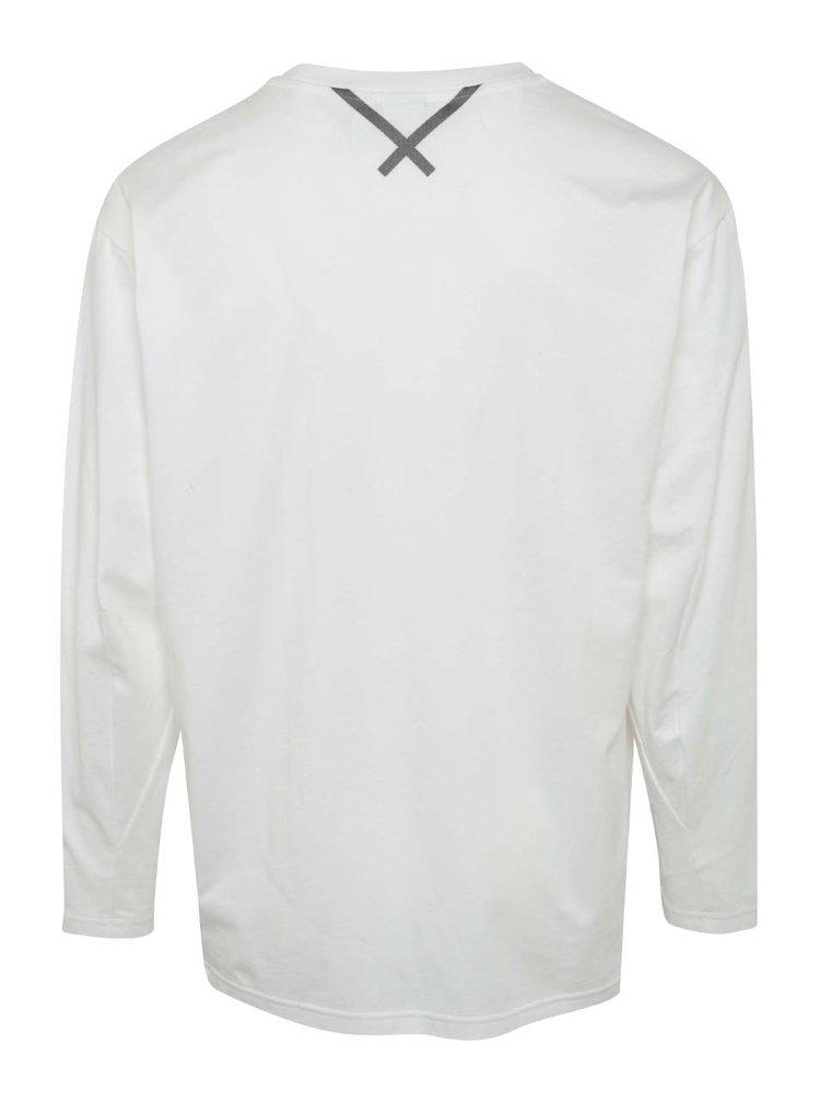 Bílé pánské tričko s dlouhým rukávem adidas Originals XBYO